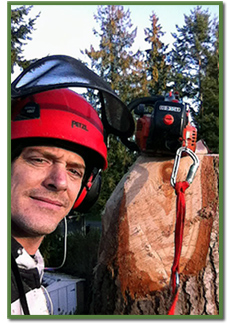 Dale Smith, Arborist living in Nanoose Bay